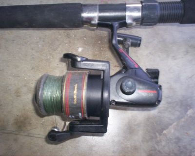 south bend cat spin sf-50 rod and reel