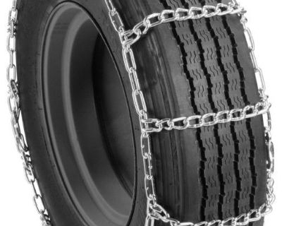 Semi Tractor Truck Snow Tire Chains 285/75-22.5