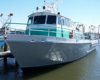 Stewart Seacraft 64 Crew Boat with 2013 engines