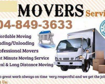 404-849-3633 Same Day Last Minute Local Long Distance Moving Movers Carpet Cleaning Junk Removal