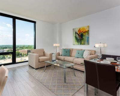 Large | 1 BR Apartment | Reston Town Center | near Dulles Airport | by GLS - Reston
