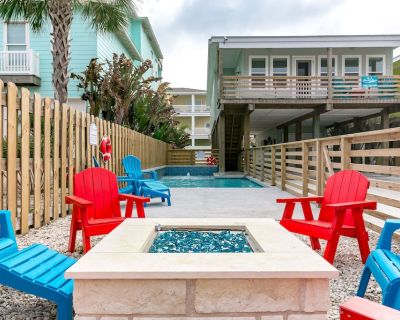 Bottoms Up:PRIVATE POOL , FREE 6 Seat Golf Cart, Boat Parking, Outdoor TV. 12 Guests - Port Aransas