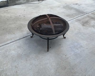FirePit and Firewood/holder
