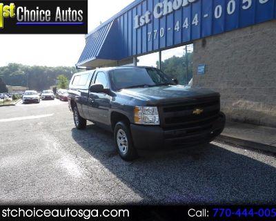 """Used 2013 Chevrolet Silverado 1500 2WD Reg Cab 133.0"""" Work Truck"""