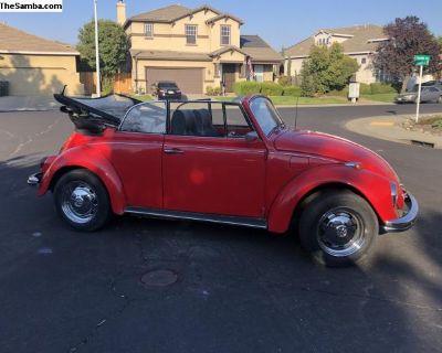 1969 Convertible Beetle