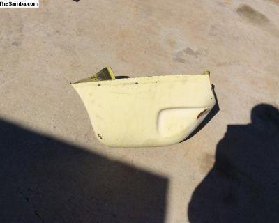 72-74 rear bottom fender piece, Karmann Ghia