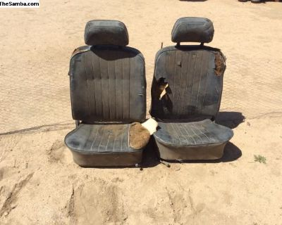 69-74 Karmann Ghia front seats