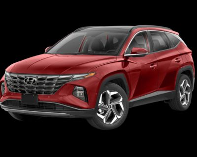 New 2022 Hyundai Tucson Limited with Navigation
