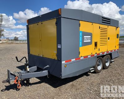 2018 Atlas Copco XAS1800JD8FT4 1,800 cfm Mobile Air Compressor