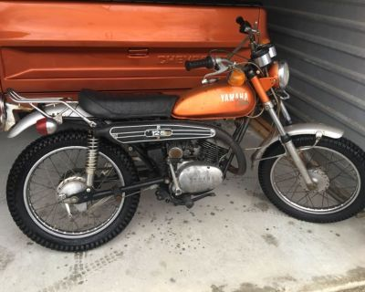 Yamaha AT 1972 125 cc electric start