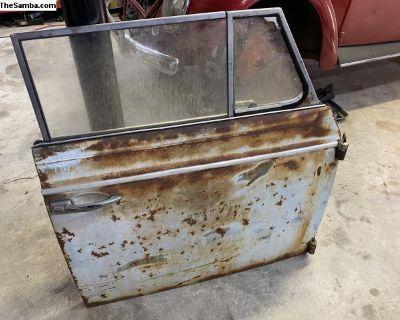 Early convertible door w/regulator