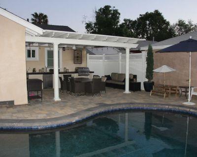 Beautiful 3bd House with incredible private patio/pool in Sherman Oaks - Sherman Oaks