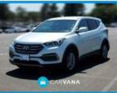 2017 Hyundai Santa Fe Silver, 45K miles