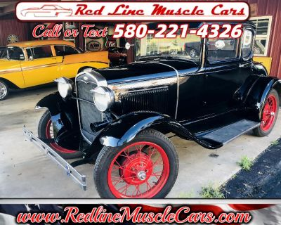 Used 1930 Ford A 5 window coupe