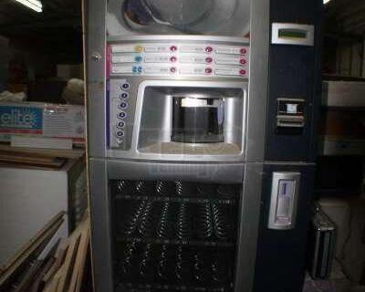 (6) - 2007 Saeco Diamante Coffee & Cold Snack Vending Machines!!!