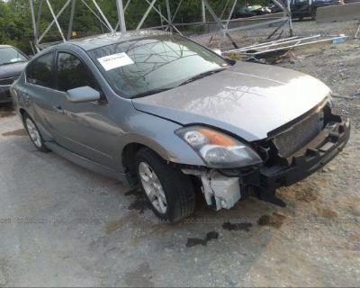 Salvage Gray 2008 Nissan Altima