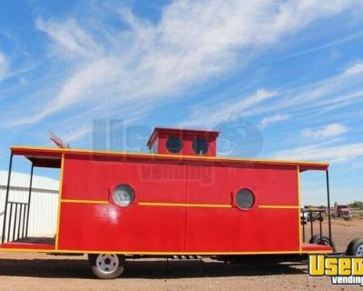 8.5' x 27' Caboose Truck