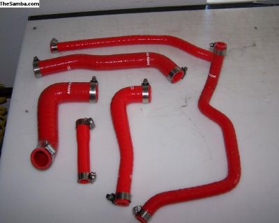 Mk1 1.6 Complete Engine Coolant Silicone Hose Kit