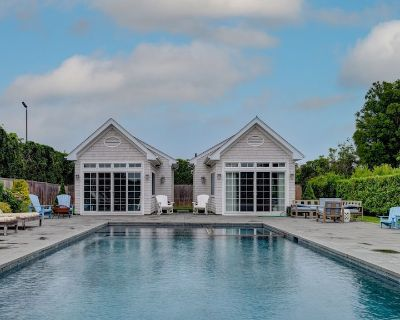 New Listing: Light-filled Traditional Home With Pool, Gym, and Fairway - Westhampton Beach