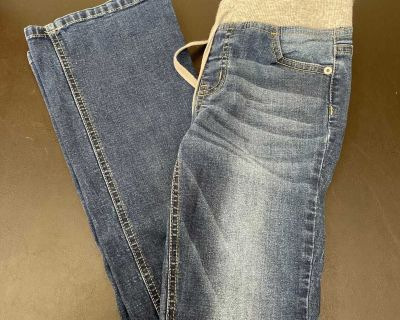 Justice jeans boot cut size 12