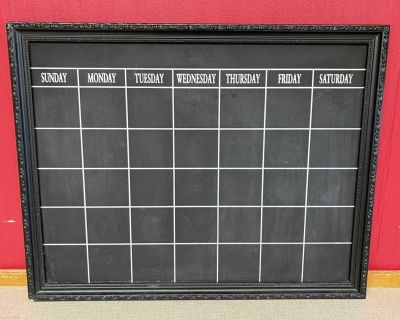24x19 Monthly Chalkboard Wall Hanging