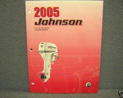 2005 Johnson 9.9,15,25,30h.p. 2 Stroke Service Manual