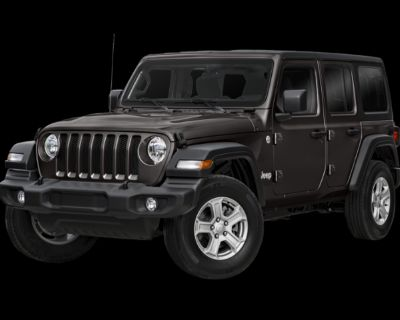 New 2021 Jeep Wrangler Unlimited Willys Sport 4WD Convertible