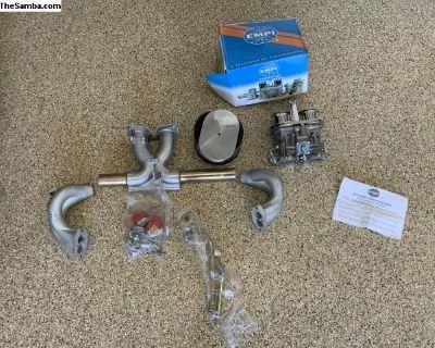 Empi 40 Carburetor set up