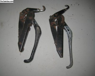 pair of convertible top latches complete
