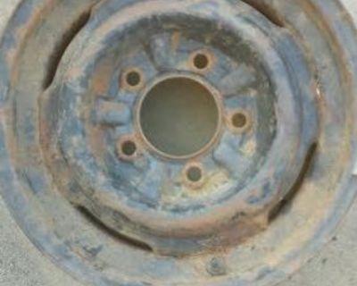 15x5.5 Mercury Wheels Monterey Montclair Lincoln 1949 1950 1951 1952 1954 Coupe