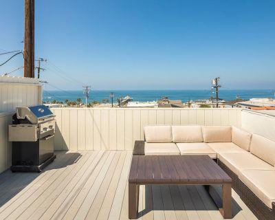 Downtown Manhattan Beach Getaway, Ocean Views, Walk to Beach and Restaurants! - Sand Section