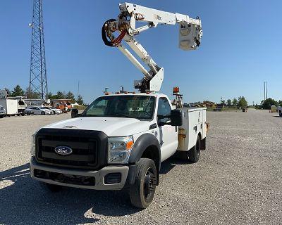 2011 FORD F550 Boom, Bucket, Crane Trucks Truck