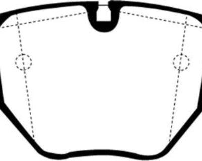 Ebc Brakes Ud681 Ebc Ultimax Brake Pads Fits 96-06 530i 540i 740i 740il M5 X5