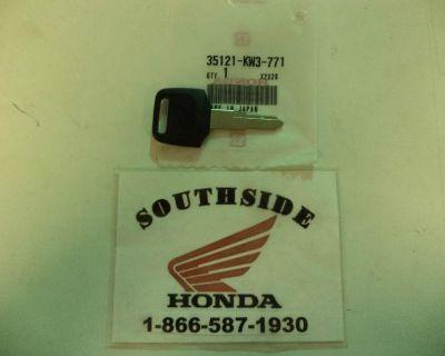 Genuine Honda Key Blank Cmx450 Cx500 Cx650 Gl1100 Gl1200 Gl500 T-1 35121-kw3-771