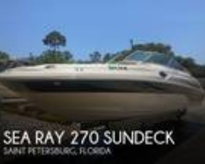 27 foot Sea Ray 270 Sundeck