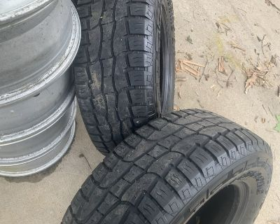 (4) 235/70/16 tires for $100!