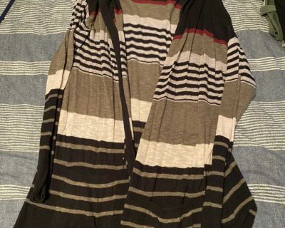 Maurices size 2 hooded cardigan