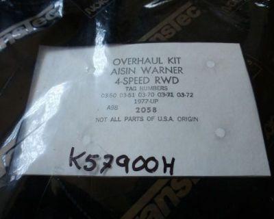 Aisin Warner 4 Speed Rwd Transmission Overhaul Kit 1982- Up