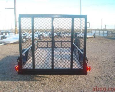 Single Axle Utility Trailer, Big Tex 29SA-10