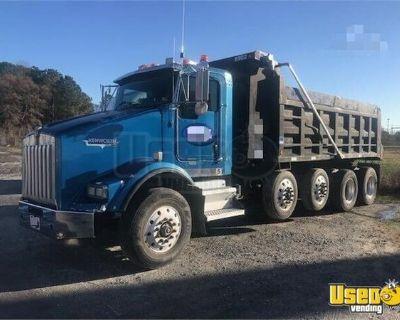 2005 Kenworth T800 Quad-Axle Dump Truck Cummins ISL 8-Speed