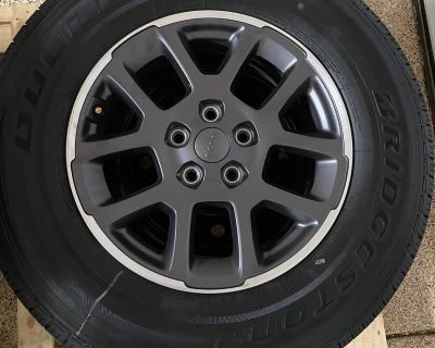 California - 2021 Overland Wheels + Tires + Spare