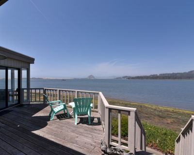 Fabulous Bayfront Home with Morro Rock Views! - Baywood-Los Osos