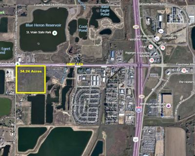 34.24 Acres for Sale Right on HWY 119 and CR 7, 1 mile from I-25