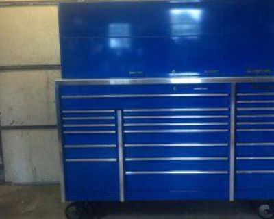 Snap On Triple Bank Toolbox With Hutch Make Offers