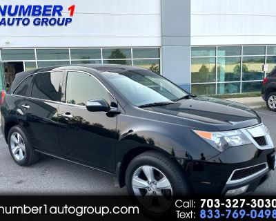 Used 2012 Acura MDX 6-Spd AT w/Tech and Entertainment Package