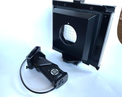 FS: Sinar Handy 4 x 5 Body with Wide Angle Lens Cone and Hand Grip