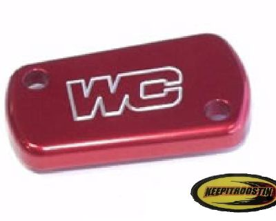 Works Rear Brake Cylinder Red Cap For Suzuki Rm 125 250 2004-2012 Rm125 Rm250