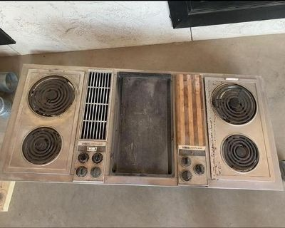 Jenn-Air Grill and Cooktop