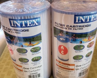 REDUCED NEW INTEX POOL FILTERS