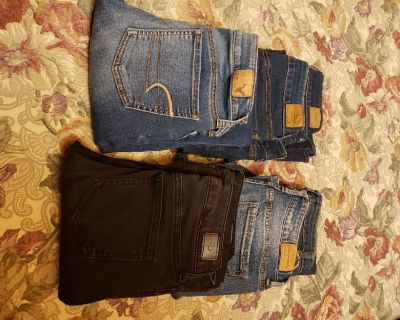 Young Girls Jean's & tops